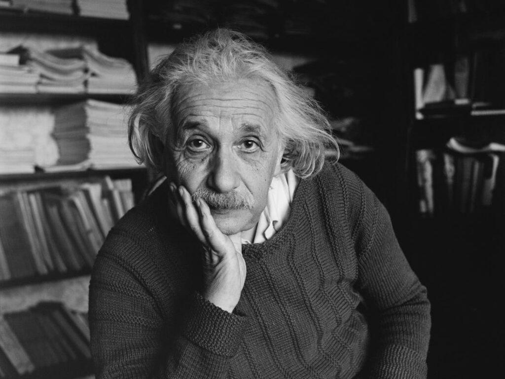 Albert Einstein intro to cycling